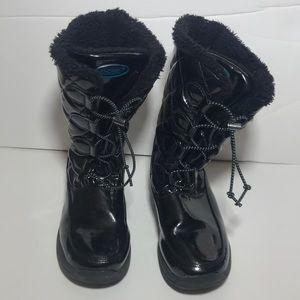 Khombu kids snow boots size 1m